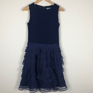 Kathy Hilton Navy Cocktail Dress - Size 6